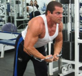 Cable Crossovers Chest Exercise