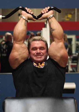 Bodybuilder Lee Preist