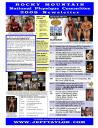 Rocky Mountain NPC 2008 Bodybuilding Schedule