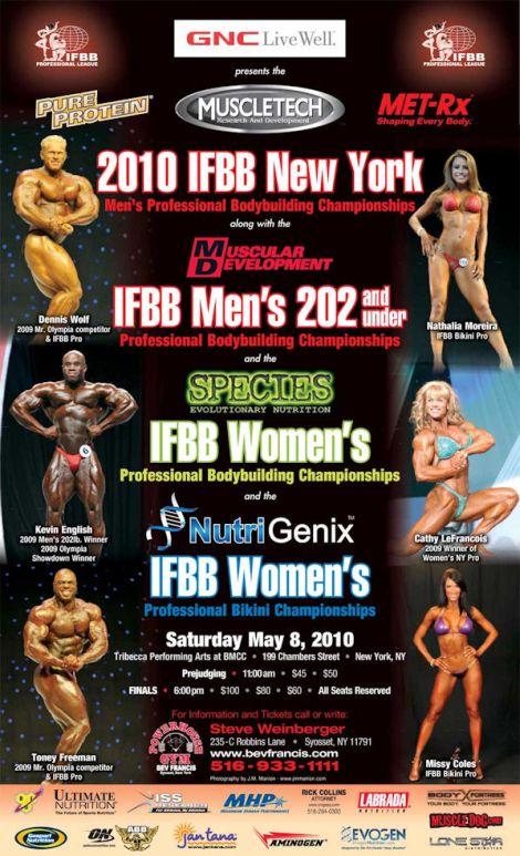 april 2010 bodybuilding photos. 2010 IFBB New York Pro