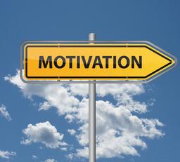 Wegweiser - Motivation