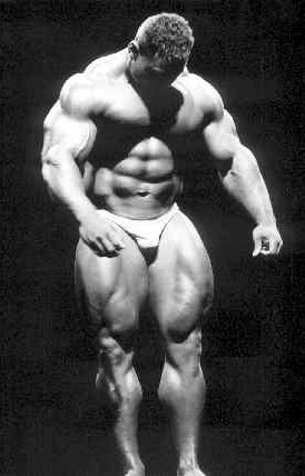 Bodybuilder Victor Richards