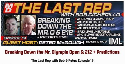 The Last Rep Bob Cicherillo Episode 19