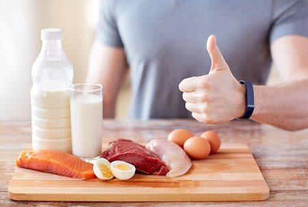 Bodybuilding with protein-rich food plan is more healthy