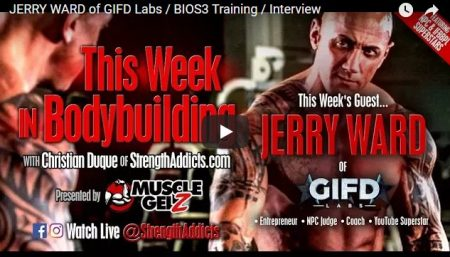 JERRY WARD of GIFD Labs / BIOS3 Training / Interview