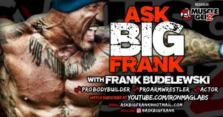 BIG FRANK – Talks Life, Supplements, Bodybuilding & Armwrestling