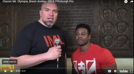 Classic Mr. Olympia, Breon Ansley – 2018 Pittsburgh Pro