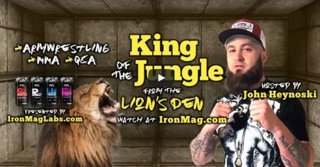 King of the Jungle with John Heynoski – MMA, Armwrestling, MotoX
