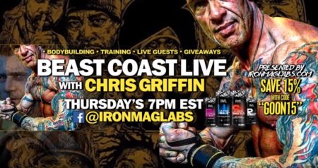 Beast Coast LIVE – Boston Bodybuilder Chris Griffin Speaks!
