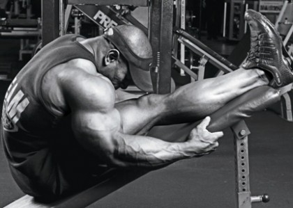 Stretching-bodybuilder